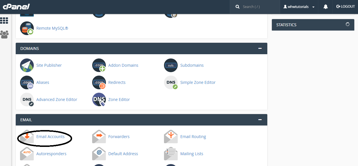 cPanel - Email Tutorial | Web Hosting World